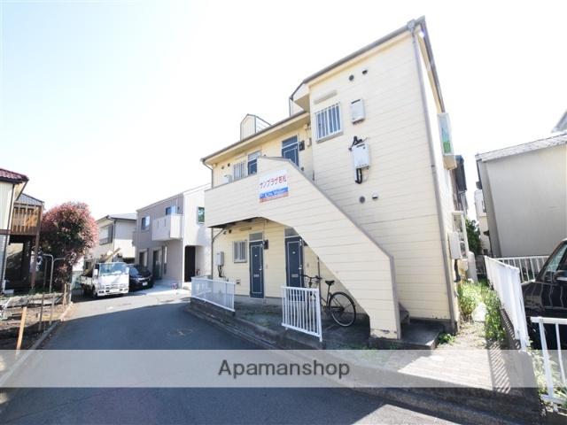 神奈川県相模原市南区、相模大野駅徒歩24分の築26年 2階建の賃貸アパート