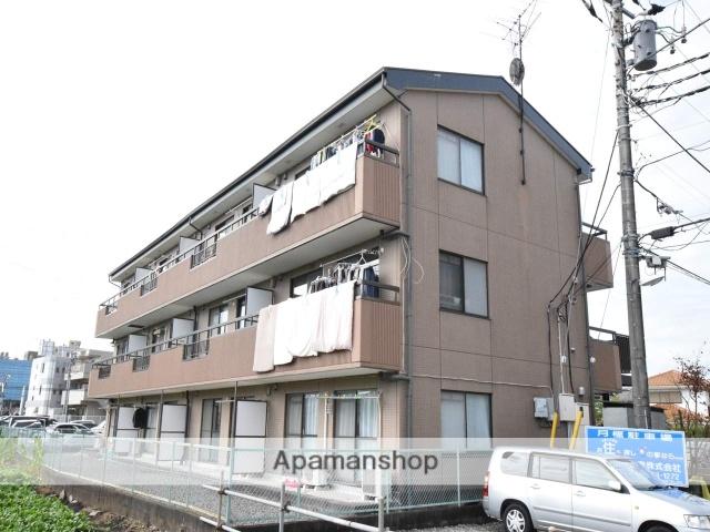 神奈川県相模原市南区、古淵駅徒歩3分の築24年 3階建の賃貸マンション