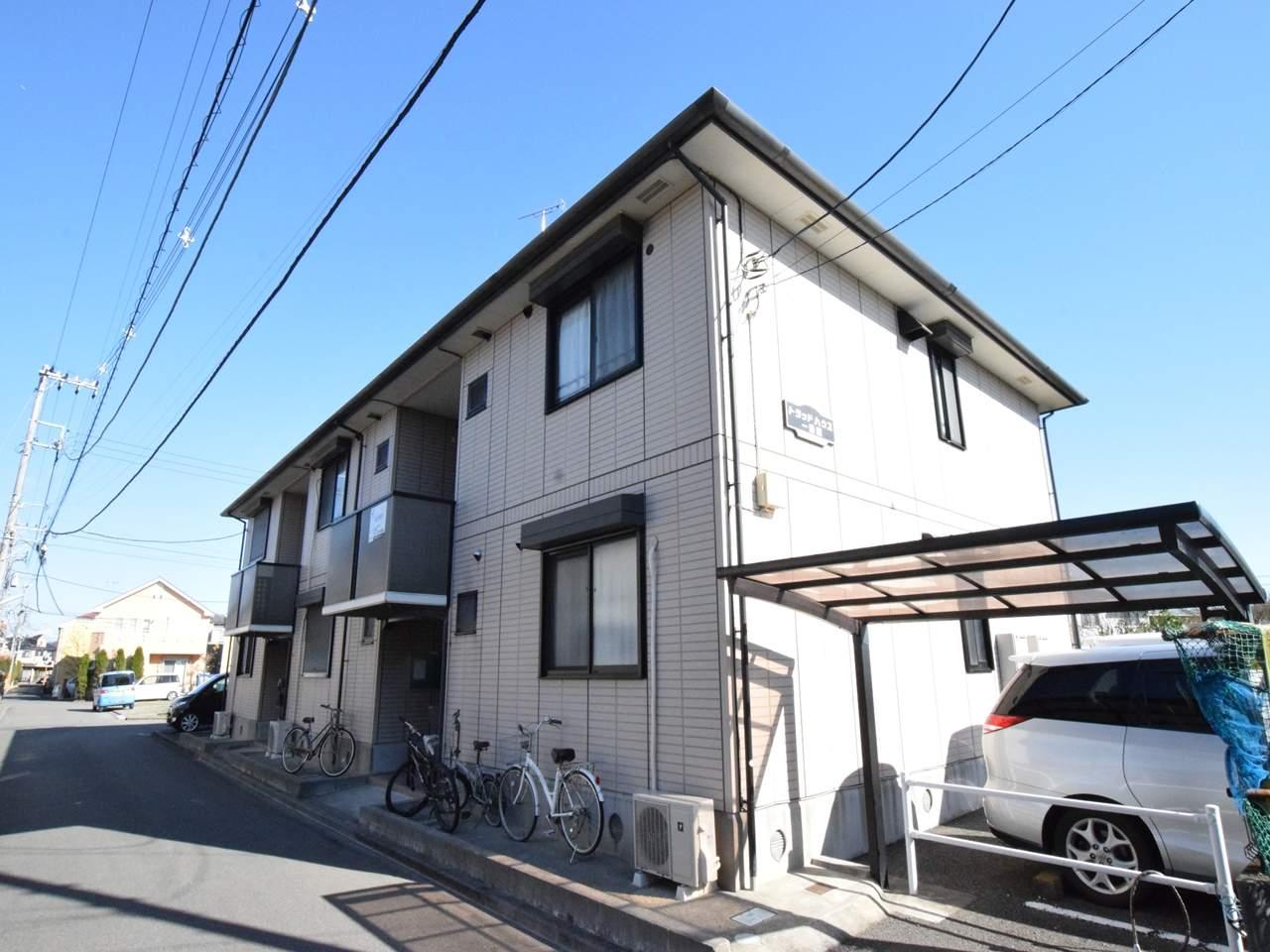 神奈川県相模原市南区、古淵駅徒歩20分の築17年 2階建の賃貸アパート
