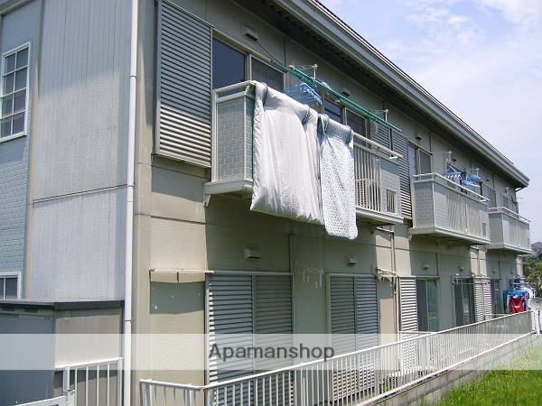 東京都町田市、鶴川駅バス8分木倉下車後徒歩1分の築25年 2階建の賃貸アパート