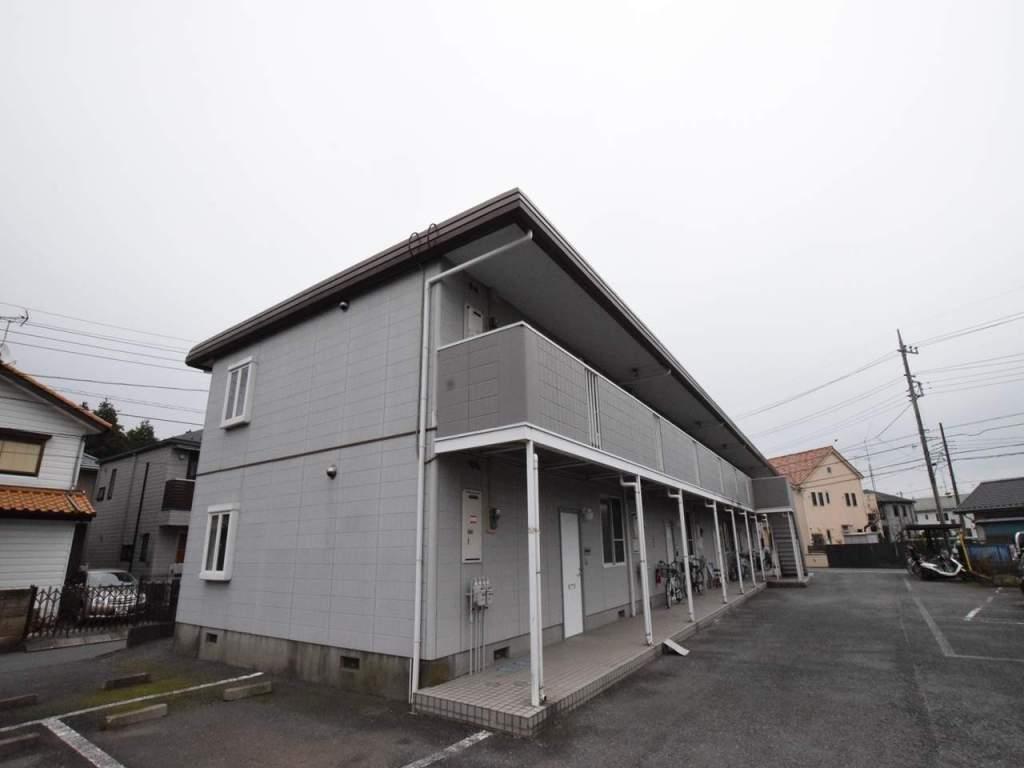 神奈川県相模原市南区、古淵駅徒歩17分の築24年 2階建の賃貸アパート
