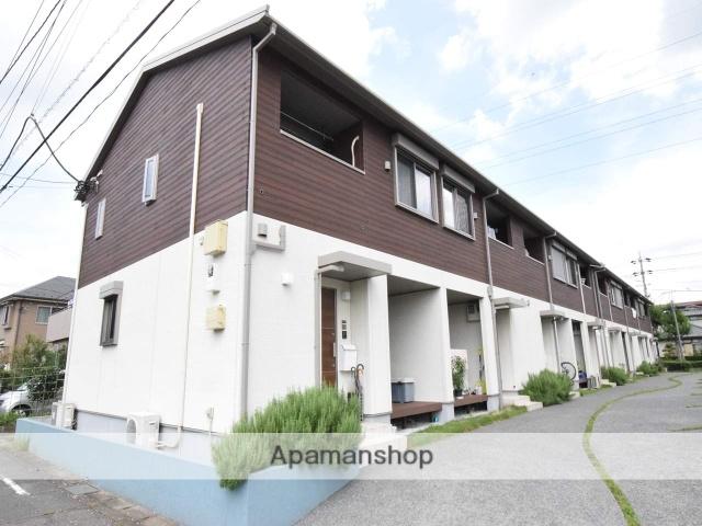 神奈川県相模原市中央区、古淵駅徒歩17分の築4年 2階建の賃貸テラスハウス