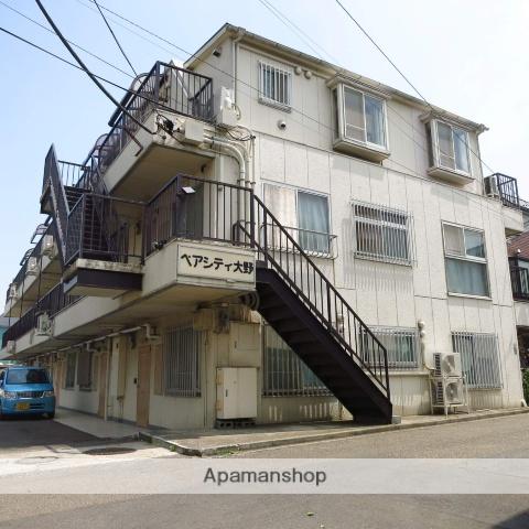 神奈川県相模原市南区、相模大野駅徒歩17分の築32年 4階建の賃貸マンション