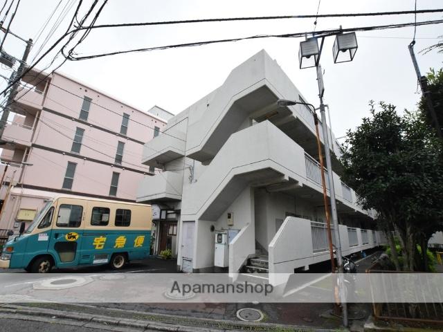 神奈川県相模原市南区、相模大野駅徒歩17分の築35年 3階建の賃貸マンション