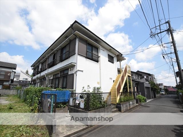 神奈川県相模原市南区、東林間駅徒歩8分の築28年 2階建の賃貸アパート