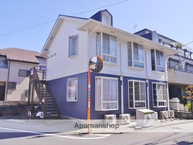 神奈川県相模原市南区、古淵駅徒歩14分の築25年 2階建の賃貸アパート