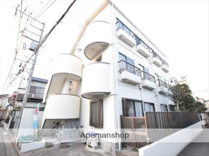 神奈川県相模原市南区、相模大野駅徒歩16分の築27年 3階建の賃貸マンション