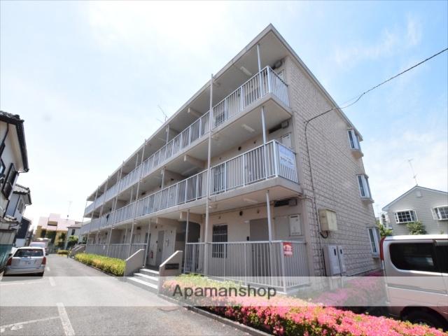 神奈川県相模原市南区、古淵駅徒歩8分の築28年 3階建の賃貸マンション