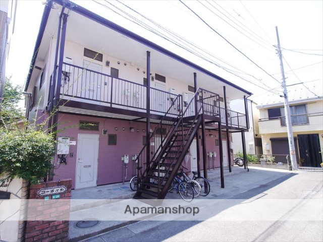 神奈川県相模原市南区、相模大野駅徒歩16分の築19年 2階建の賃貸アパート