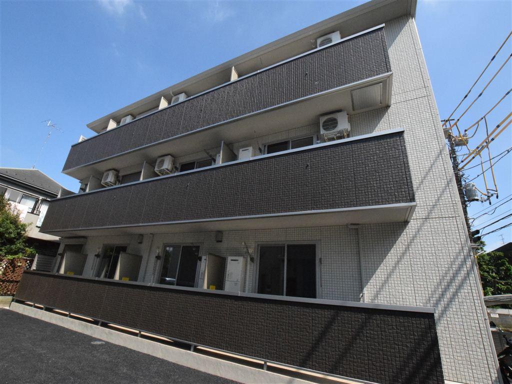 神奈川県相模原市南区、小田急相模原駅徒歩4分の新築 3階建の賃貸アパート