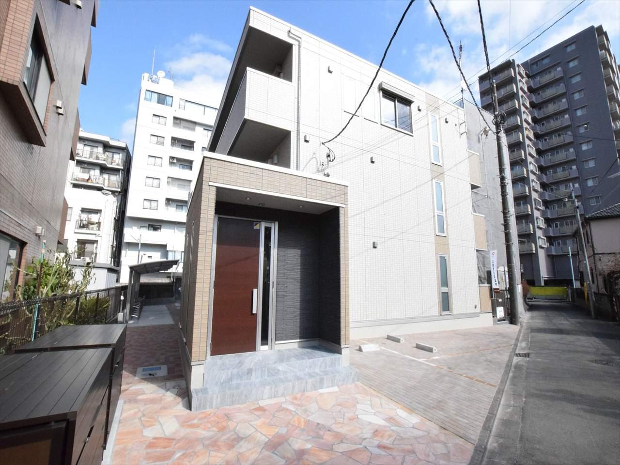 神奈川県相模原市中央区、淵野辺駅徒歩27分の新築 3階建の賃貸アパート