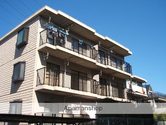 神奈川県相模原市南区、下溝駅徒歩35分の築24年 3階建の賃貸マンション