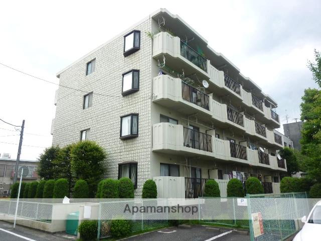 神奈川県相模原市南区、相模大野駅徒歩28分の築30年 4階建の賃貸マンション