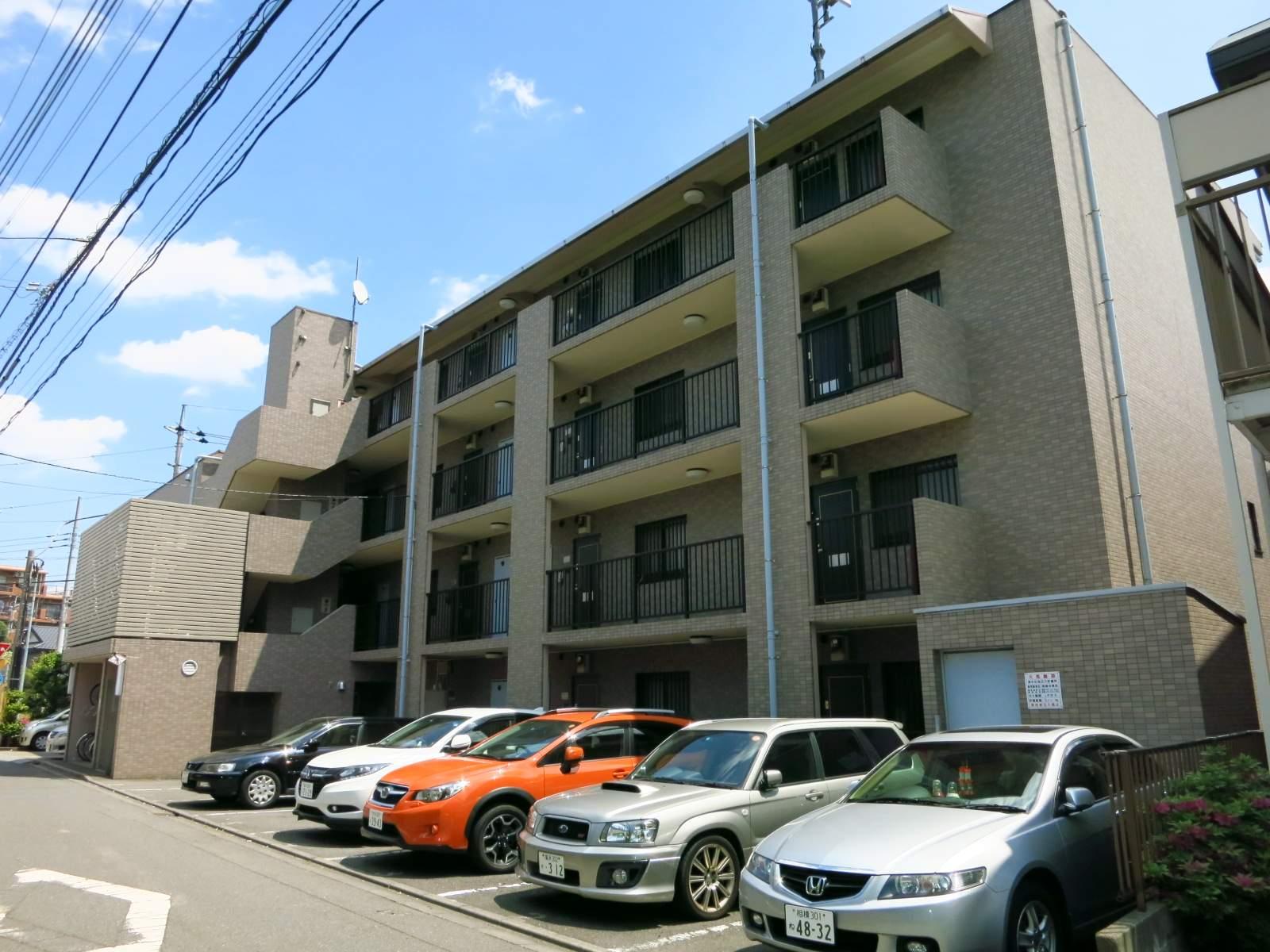 神奈川県相模原市南区、町田駅徒歩13分の築20年 4階建の賃貸マンション