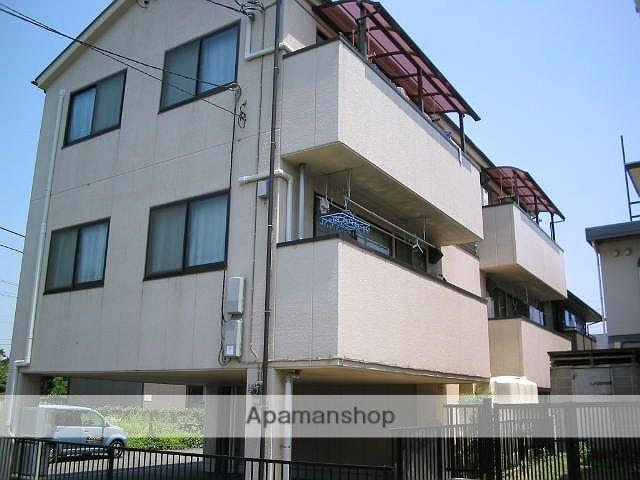 神奈川県相模原市南区、町田駅徒歩17分の築18年 3階建の賃貸マンション