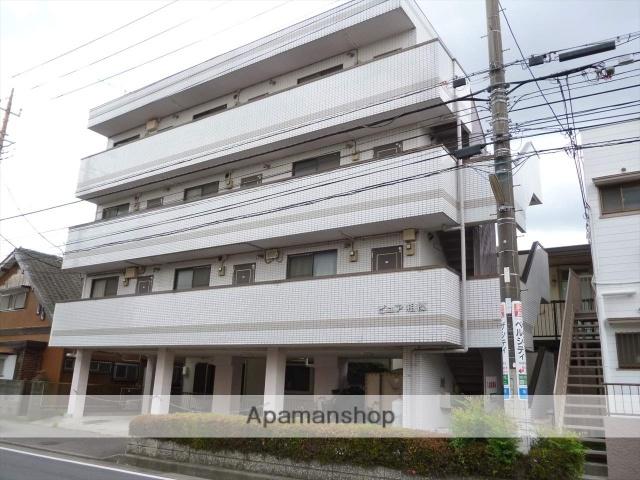 神奈川県相模原市南区、相模大野駅徒歩12分の築25年 4階建の賃貸マンション