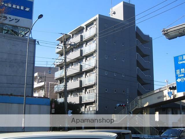 神奈川県相模原市南区、町田駅徒歩25分の築22年 7階建の賃貸マンション