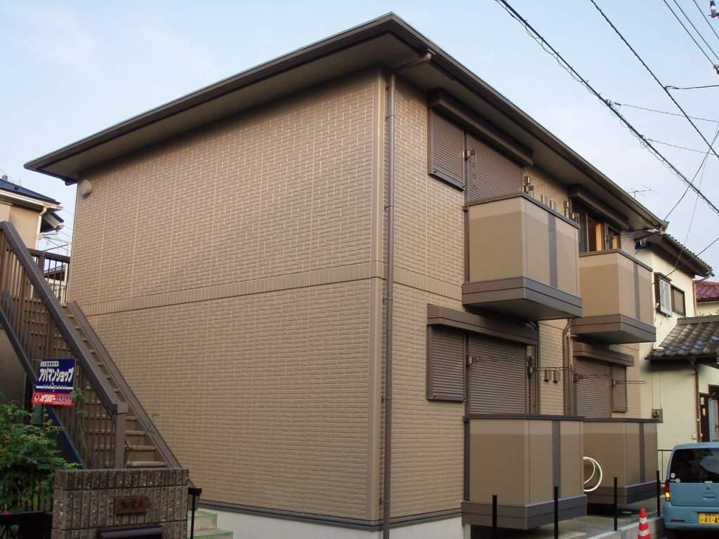 神奈川県相模原市南区、相模大野駅神奈川中央交通バス7分上原団地下車後徒歩4分の築10年 2階建の賃貸アパート