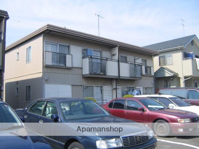 神奈川県相模原市南区、東林間駅徒歩12分の築28年 2階建の賃貸アパート