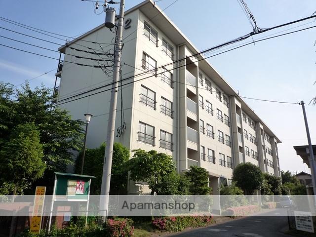 神奈川県相模原市南区、相模大野駅徒歩20分の築45年 5階建の賃貸マンション