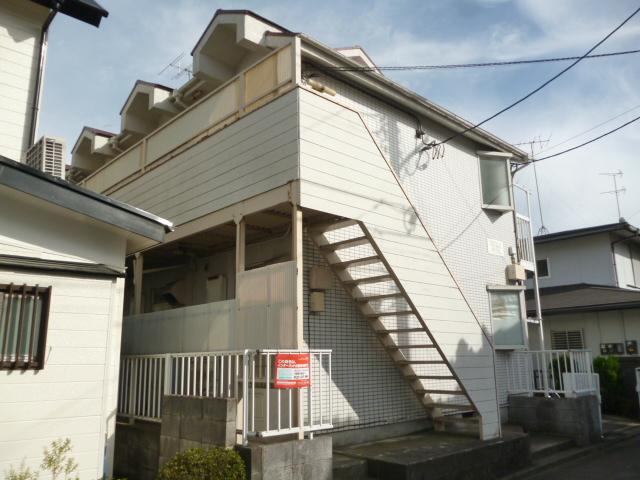 神奈川県相模原市南区、相模大野駅徒歩25分の築26年 2階建の賃貸アパート