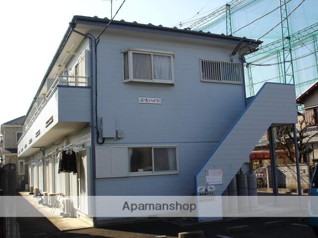 神奈川県相模原市南区、古淵駅徒歩12分の築25年 2階建の賃貸アパート