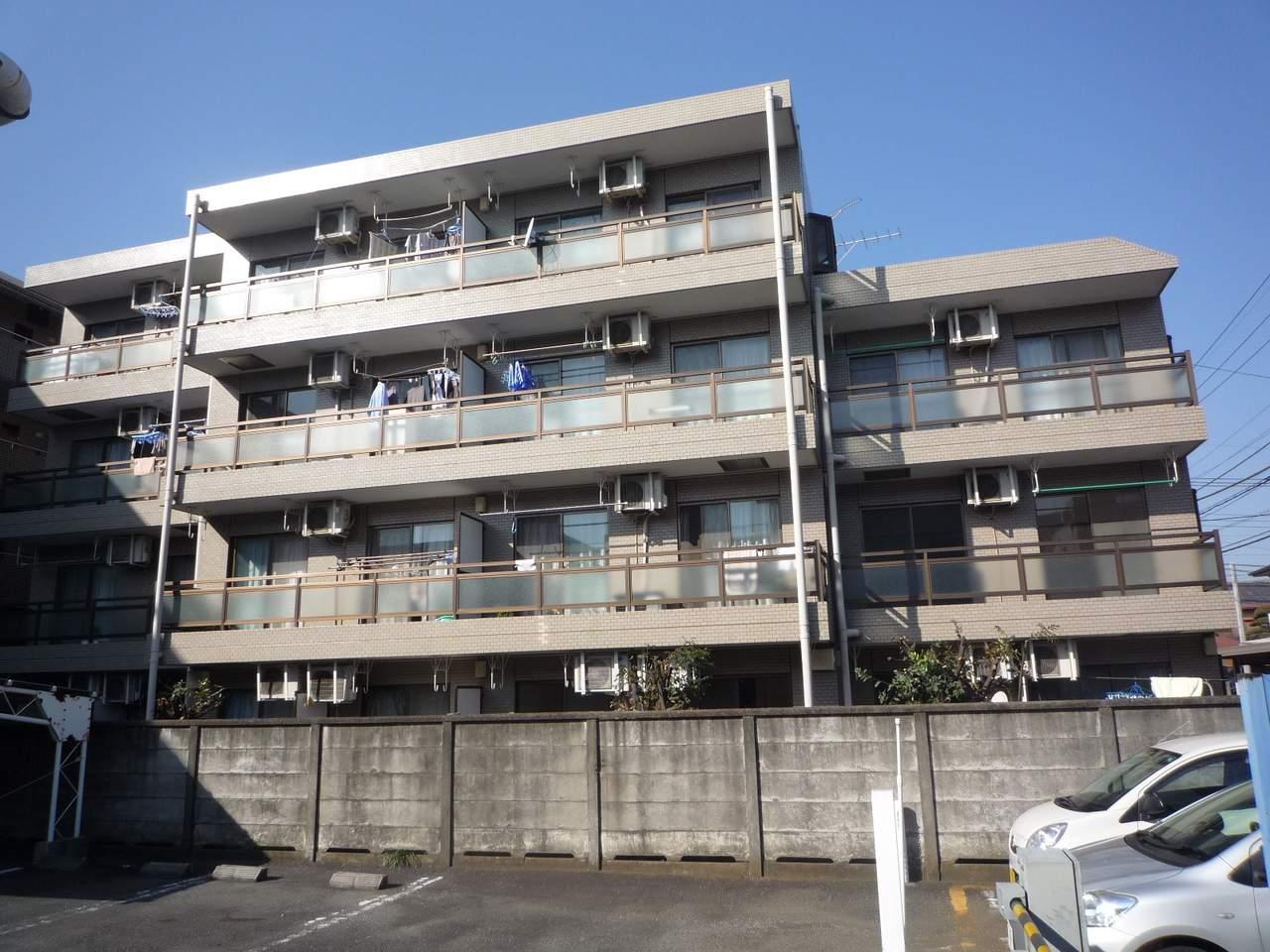 神奈川県相模原市南区、相模大野駅徒歩15分の築27年 4階建の賃貸マンション