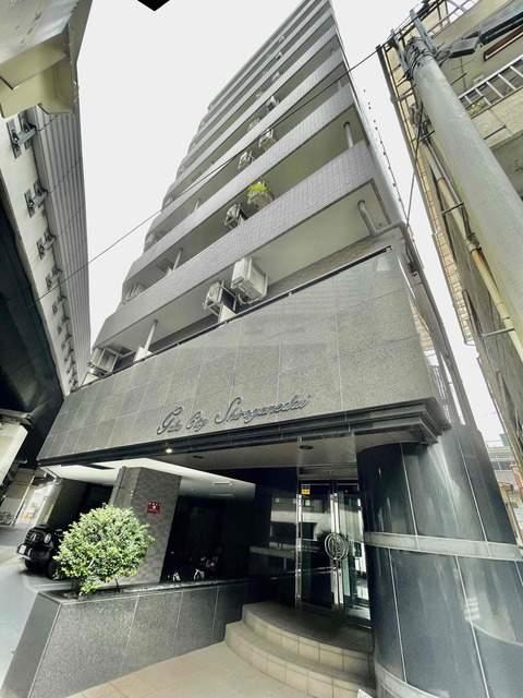 東京都港区、目黒駅徒歩16分の築18年 9階建の賃貸マンション