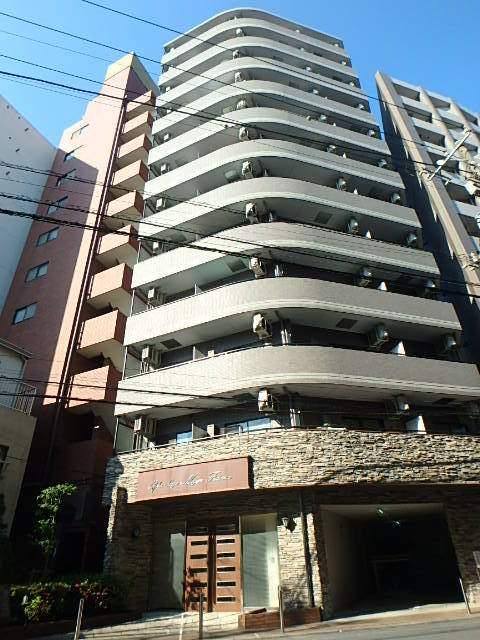 東京都品川区、目黒駅徒歩13分の築14年 12階建の賃貸マンション