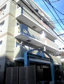 東京都目黒区、五反田駅徒歩20分の築22年 7階建の賃貸マンション