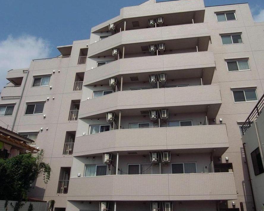 東京都目黒区、祐天寺駅徒歩18分の築10年 7階建の賃貸マンション
