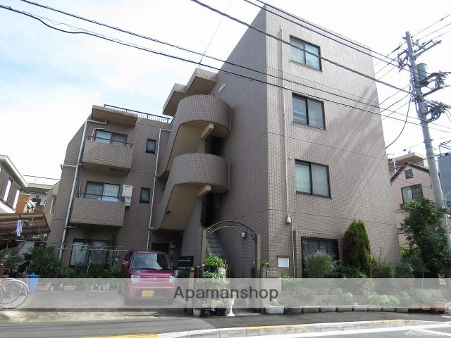 東京都大田区、池上駅徒歩11分の築21年 4階建の賃貸マンション