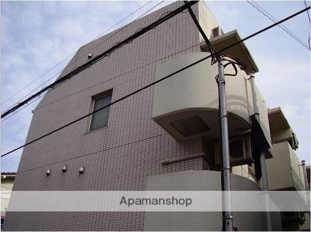 東京都大田区、平和島駅徒歩12分の築24年 3階建の賃貸マンション