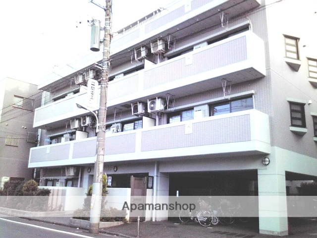 東京都大田区、大森町駅徒歩20分の築21年 4階建の賃貸マンション