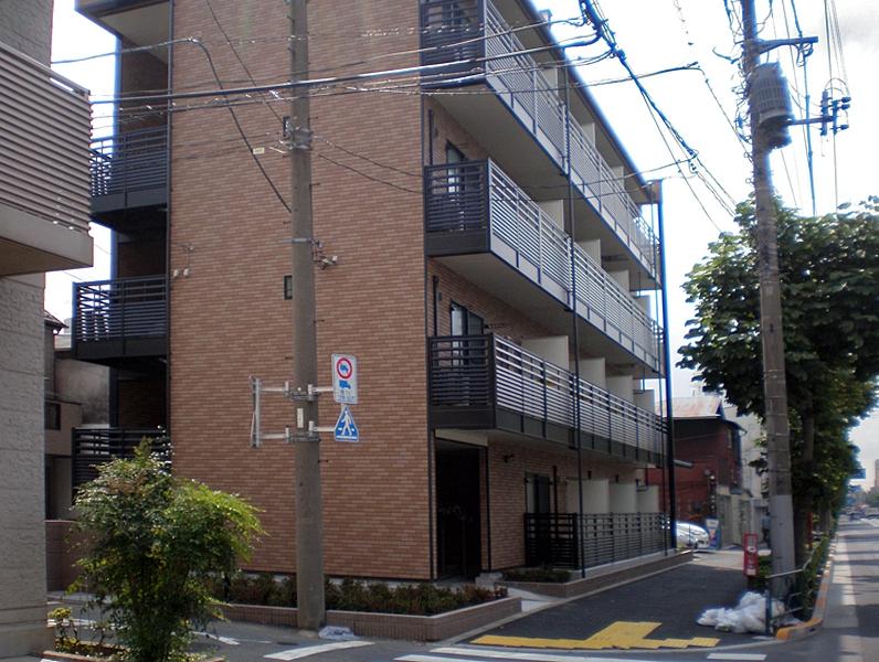 東京都大田区、大森駅徒歩14分の築4年 4階建の賃貸アパート