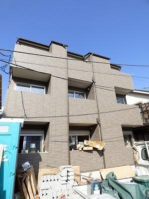 東京都大田区、荏原町駅徒歩11分の新築 3階建の賃貸アパート