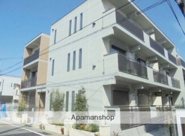 東京都大田区、久が原駅徒歩4分の新築 3階建の賃貸マンション