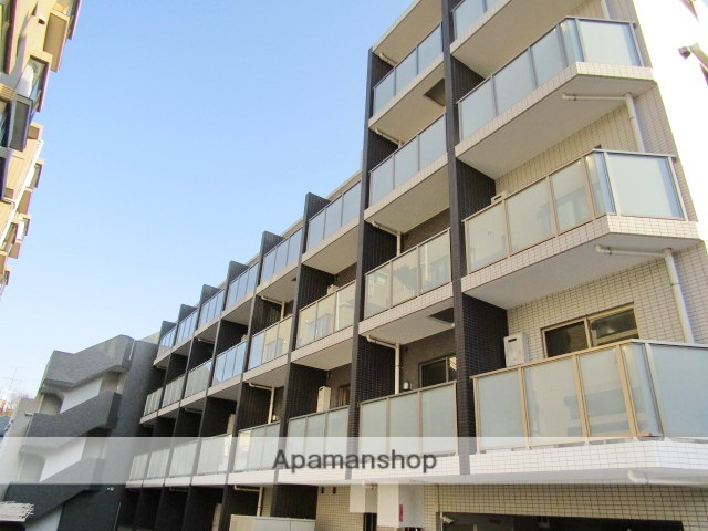東京都大田区、荏原町駅徒歩10分の新築 5階建の賃貸マンション