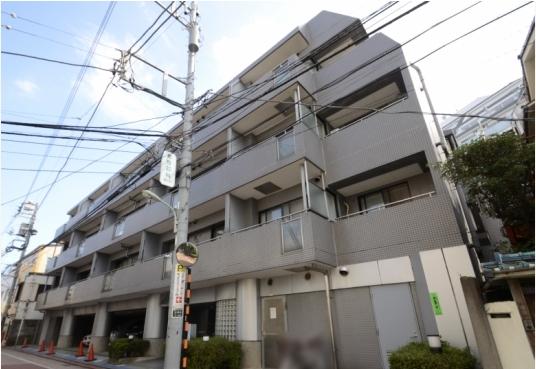 東京都大田区、長原駅徒歩3分の築26年 5階建の賃貸マンション