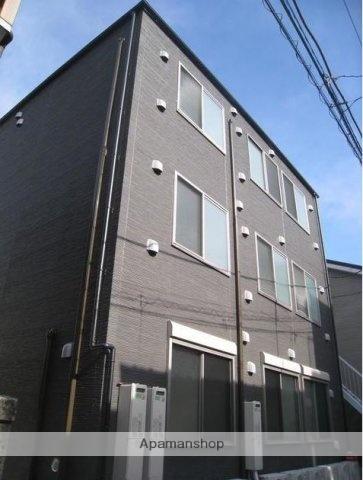 東京都大田区、西大井駅徒歩17分の新築 3階建の賃貸アパート