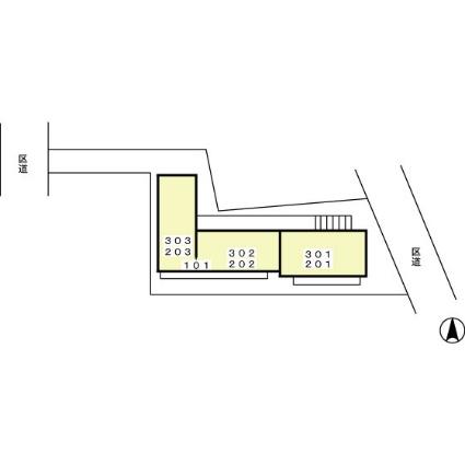 ブリリアンコート[1DK/35.62m2]の配置図