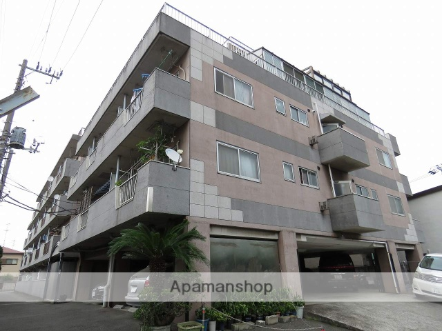 東京都大田区、雑色駅徒歩3分の築40年 4階建の賃貸マンション