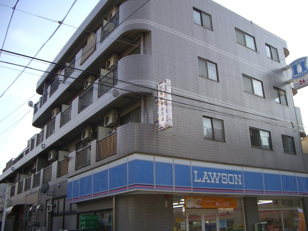 東京都大田区、蓮沼駅徒歩13分の築26年 4階建の賃貸マンション