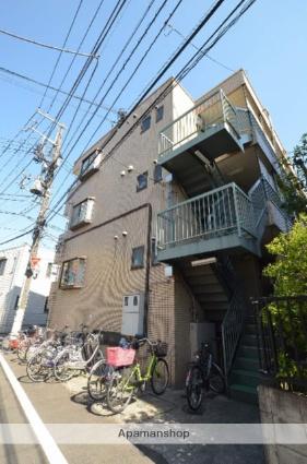 東京都大田区、大森町駅徒歩13分の築25年 3階建の賃貸マンション