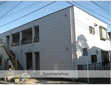 東京都大田区、荏原町駅徒歩21分の築23年 2階建の賃貸アパート
