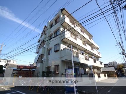 東京都大田区、大鳥居駅徒歩8分の築24年 4階建の賃貸マンション