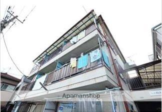 東京都大田区、京急蒲田駅徒歩13分の築28年 3階建の賃貸マンション