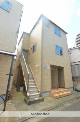 東京都品川区、戸越公園駅徒歩3分の築8年 3階建の賃貸アパート