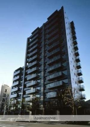 東京都品川区、戸越公園駅徒歩5分の築8年 14階建の賃貸マンション