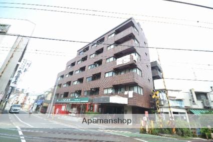 東京都品川区、戸越公園駅徒歩1分の築22年 6階建の賃貸マンション